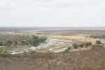 One of Best Known Views in Park. Looking Upstream from Olifants Camp | Kruger National Park
