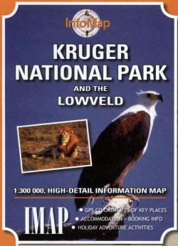 Kruger National park & Lowveld Info map
